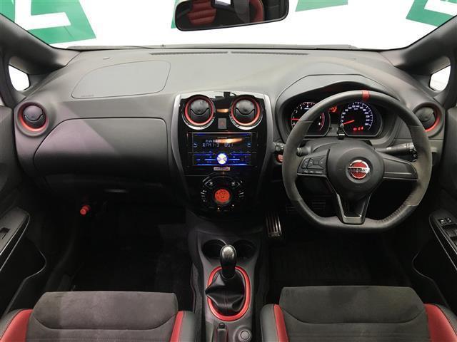 ニスモ S 5速マニュアル カロッツェリアオーディオ ハーフレザーシート ドライブレコーダー 専用レカロシート HIDヘッドライト オートライト インテリジェントキー(2枚目)