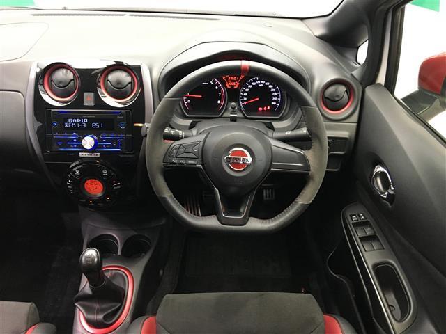 ニスモ S 5速マニュアル カロッツェリアオーディオ ハーフレザーシート ドライブレコーダー 専用レカロシート HIDヘッドライト オートライト インテリジェントキー(4枚目)