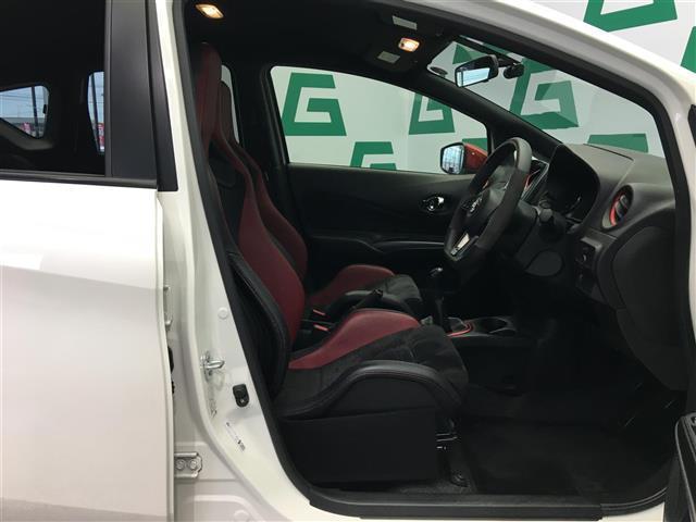 ニスモ S 5速マニュアル カロッツェリアオーディオ ハーフレザーシート ドライブレコーダー 専用レカロシート HIDヘッドライト オートライト インテリジェントキー(17枚目)