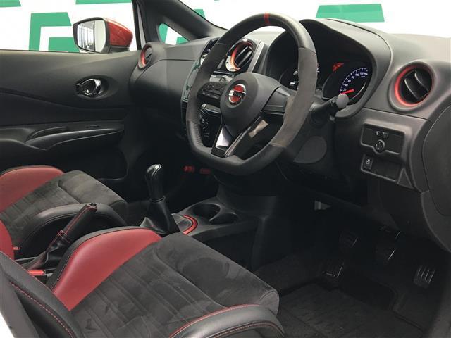 ニスモ S 5速マニュアル カロッツェリアオーディオ ハーフレザーシート ドライブレコーダー 専用レカロシート HIDヘッドライト オートライト インテリジェントキー(18枚目)