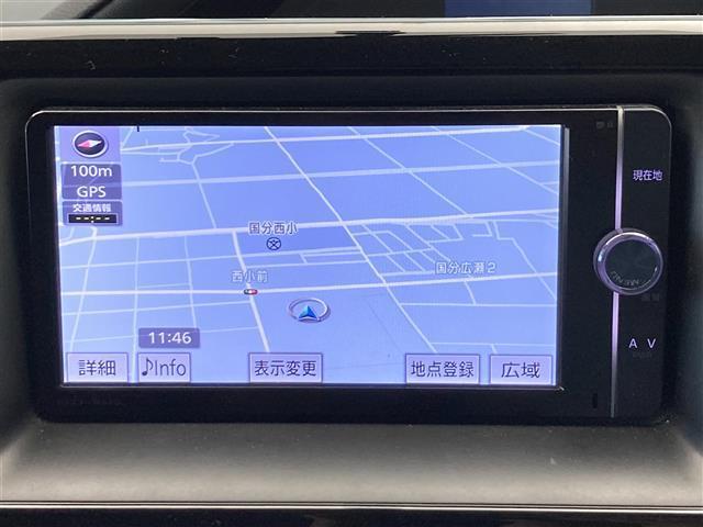 ZS 純正SDナビ Bluetooth フルセグ DVD再生 バックカメラ フリップダウンモニター 本革ステアリング ETC ステアリングスイッチ 片側パワースライド LED オートライト アイドリング(5枚目)