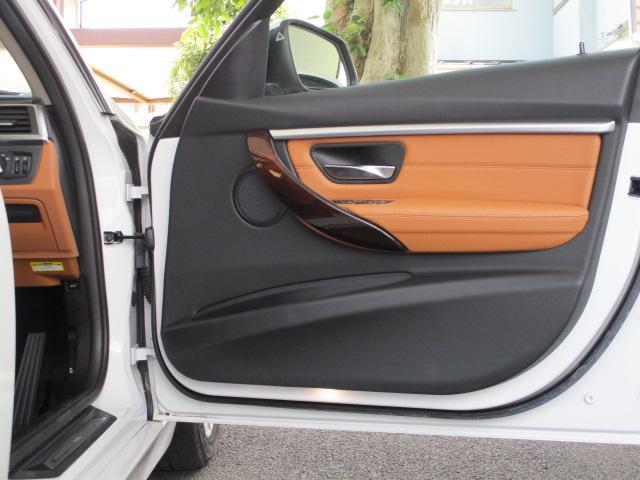 318iツーリング ラグジュアリー コニャックレザー シートヒーター タッチパネルHDDナビゲーション スマートキー 衝突軽減ブレーキ レーンアシスト バックカメラ コーナーセンサー LEDヘッドライト BMW正規ディーラー認定中古車(27枚目)