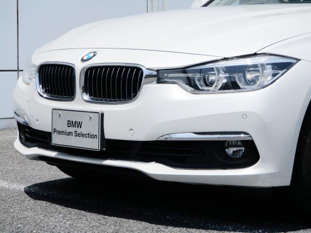 318iツーリング ラグジュアリー コニャックレザー シートヒーター タッチパネルHDDナビゲーション スマートキー 衝突軽減ブレーキ レーンアシスト バックカメラ コーナーセンサー LEDヘッドライト BMW正規ディーラー認定中古車(28枚目)