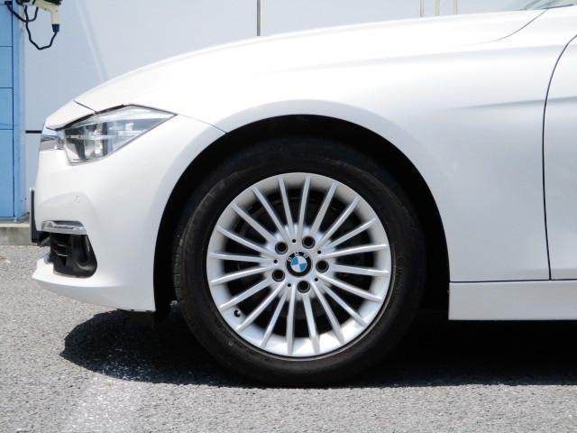 318iツーリング ラグジュアリー コニャックレザー シートヒーター タッチパネルHDDナビゲーション スマートキー 衝突軽減ブレーキ レーンアシスト バックカメラ コーナーセンサー LEDヘッドライト BMW正規ディーラー認定中古車(32枚目)