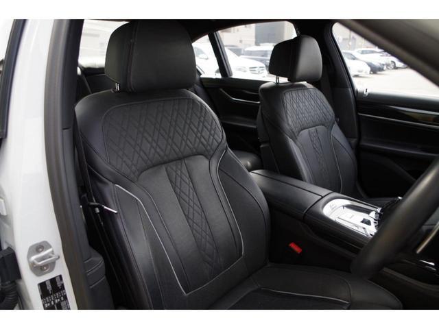 740d xDrive Mスポーツ ACC harman/kardon ジェスチャーコントロールHUDマッサージシート サンルーフ エアサスLEDライト純正ナビ フルセグ 360°カメラ 黒革シート エアシート シートヒーター BSM(22枚目)