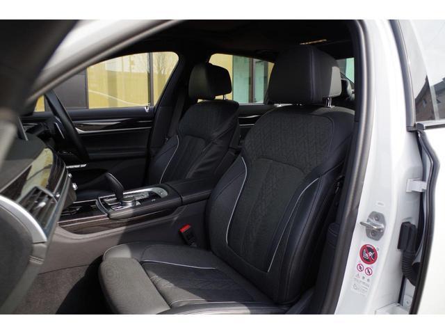 740d xDrive Mスポーツ ACC harman/kardon ジェスチャーコントロールHUDマッサージシート サンルーフ エアサスLEDライト純正ナビ フルセグ 360°カメラ 黒革シート エアシート シートヒーター BSM(26枚目)