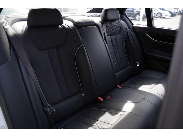 740d xDrive Mスポーツ ACC harman/kardon ジェスチャーコントロールHUDマッサージシート サンルーフ エアサスLEDライト純正ナビ フルセグ 360°カメラ 黒革シート エアシート シートヒーター BSM(27枚目)