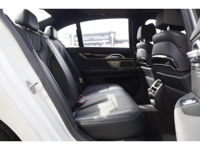 740d xDrive Mスポーツ ACC harman/kardon ジェスチャーコントロールHUDマッサージシート サンルーフ エアサスLEDライト純正ナビ フルセグ 360°カメラ 黒革シート エアシート シートヒーター BSM(29枚目)