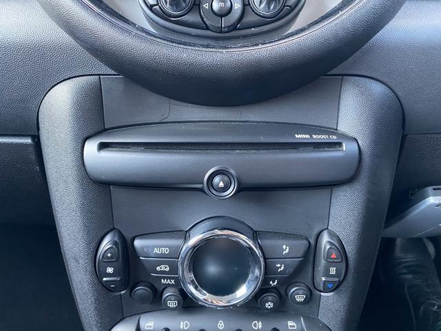 クーパー クラブマン 純正オーディオ エンジンスタートボタン リモコンキー ETC ルーフレール フォグライト 社外15インチアルミホイール(10枚目)