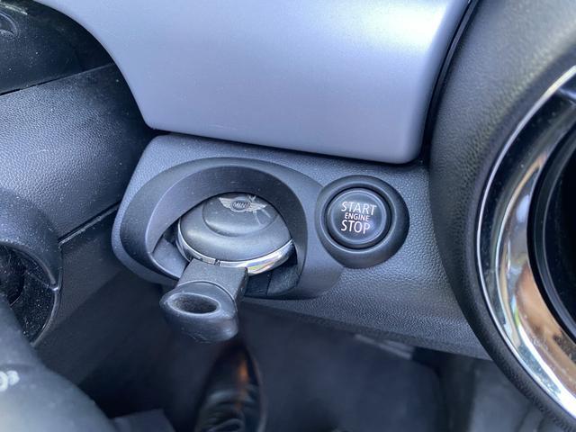 クーパー クラブマン 純正オーディオ エンジンスタートボタン リモコンキー ETC ルーフレール フォグライト 社外15インチアルミホイール(20枚目)