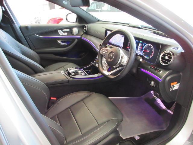 E200 アバンギャルド AMGライン エクスクルーシブパッケージ 2年保証 新車保証(4枚目)