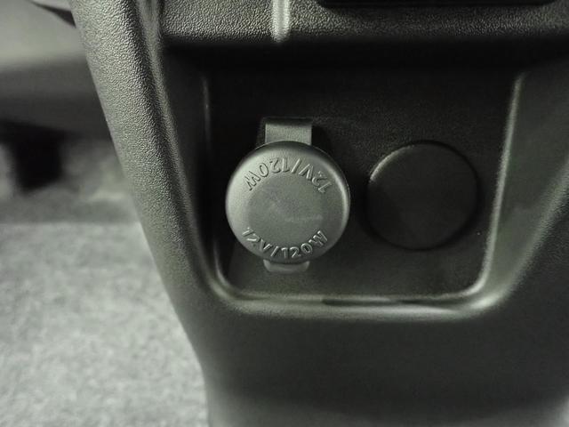 インパネにはDC12V電源を装備!いつだって充電用の電源確保は必須ですもんね!