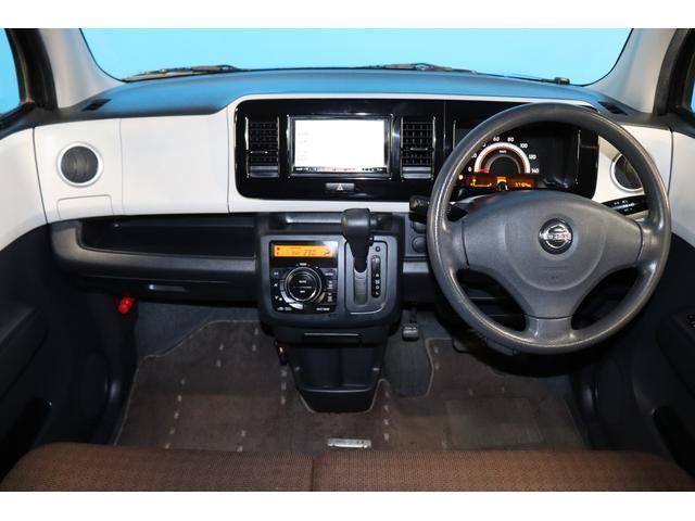 X 純正メモリーナビ Bluetoothオーディオ 地デジ ETC スマートキー 社外13インチAW タイミングチェーン ベンチシート フルフラット 記録簿 禁煙車 ユーザー買取車両(5枚目)