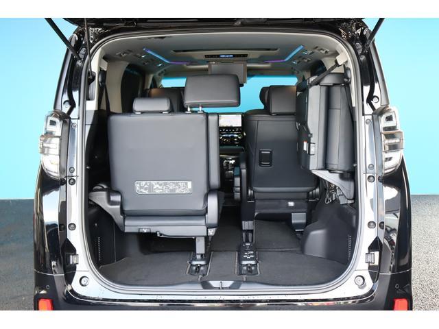 2.5Z Gエディション 3眼LEDライト/ツインサンルーフ/純正10インチナビ/12インチフリップダウンモニター/革シート/オートマチックハイビーム/セーフティセンス/ソナー/ステアリングヒーター/AC100V/バックカメラ(50枚目)