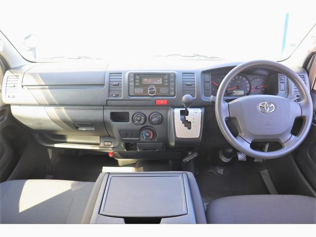 DX GLパッケージ レジアスエース 4型 ガソリン 2WD ホワイト オーディオデッキ ETC 両側スライドドア キーレス 展示前点検済 走行チェック済 ルームクリーニング済 1年間走行無制限保証付(2枚目)