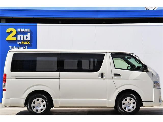 DX GLパッケージ レジアスエース 4型 ガソリン 2WD ホワイト オーディオデッキ ETC 両側スライドドア キーレス 展示前点検済 走行チェック済 ルームクリーニング済 1年間走行無制限保証付(5枚目)