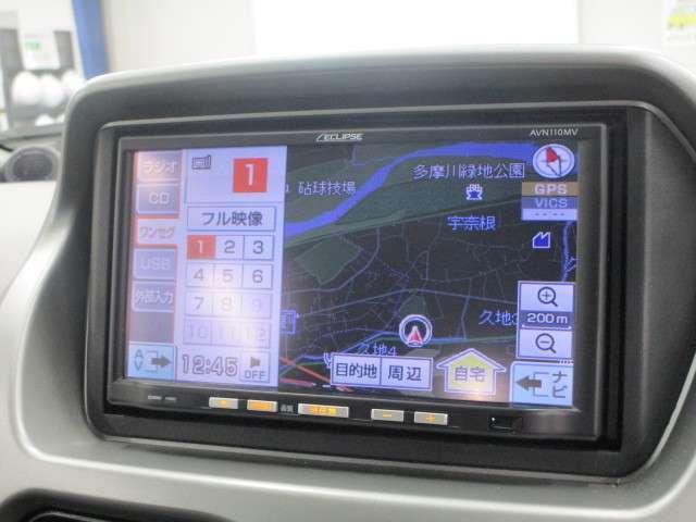 三菱 アイ 660 ビバーチェ ノンターボ車 メモリーナビ ワンセグ