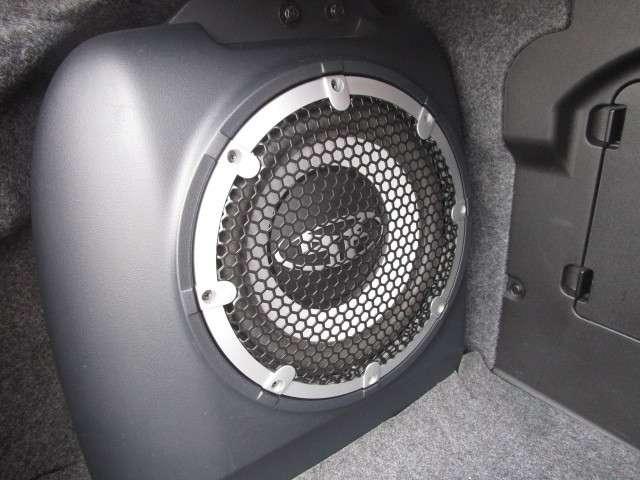 大型サブウーハーを備えたロックフォ-ドフォズゲートプレミアムサウンドシステム搭載!