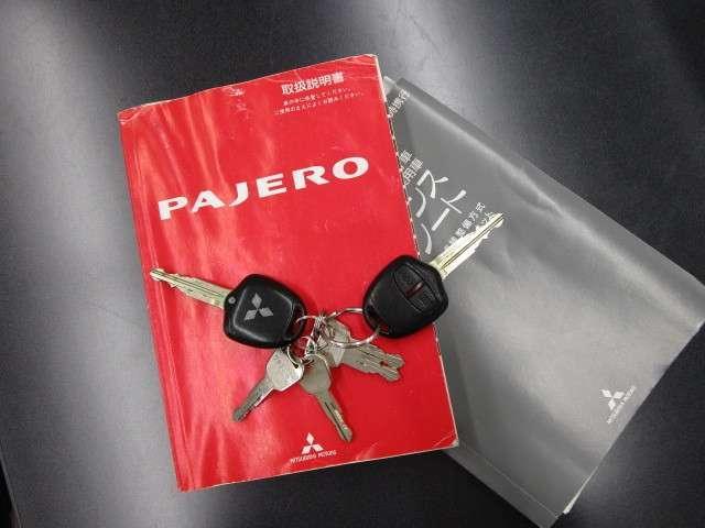 三菱 パジェロ 3.8 ロング エクシード-X 純正ナビ+ロックフォード