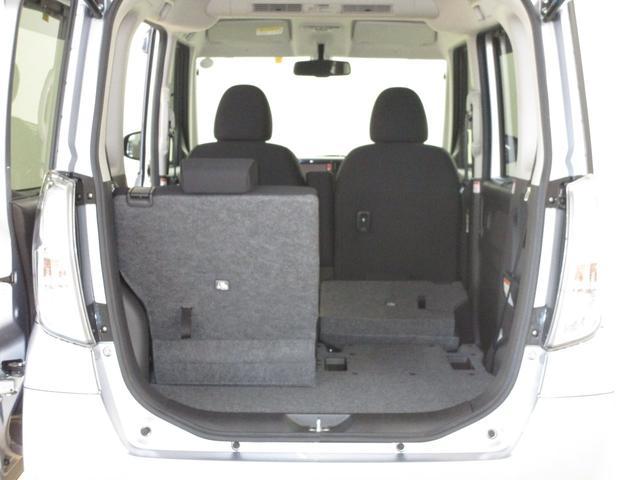 片側のシートを格納してフラットにすれば長尺物も積載できます