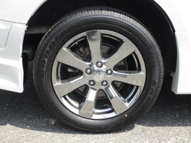 ローデスト D パワーパッケージ クロムメッキアルミ アルパイン9インチナビ 後席モニター10.1インチ ETC ワンオーナー 8人乗り 4WD 両側電動スライドドア(41枚目)