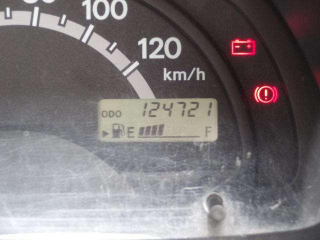 走行124712kmです。タイミングベルトは使っていないエンジンです。