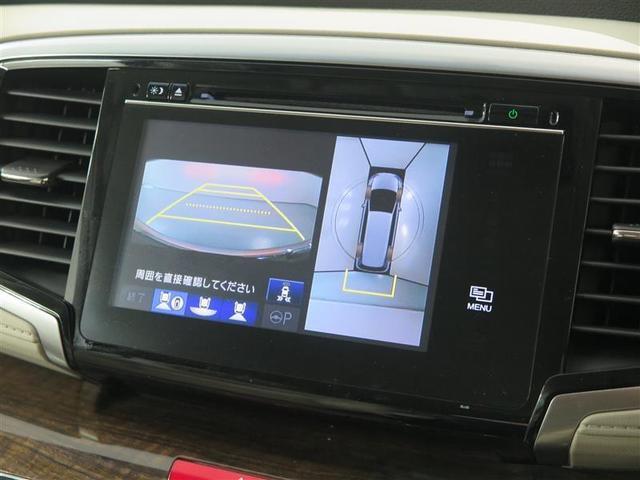 バックガイドモニター付きで駐車時も安心