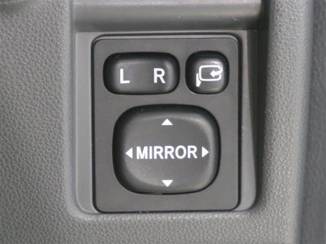 サイドミラーの調整スイッチ