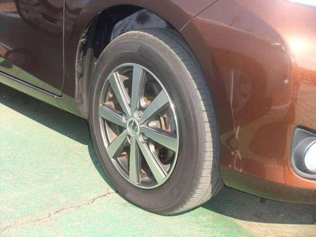 トヨタ ヴィッツ ジュエラ スマートキー タイヤ4本交換