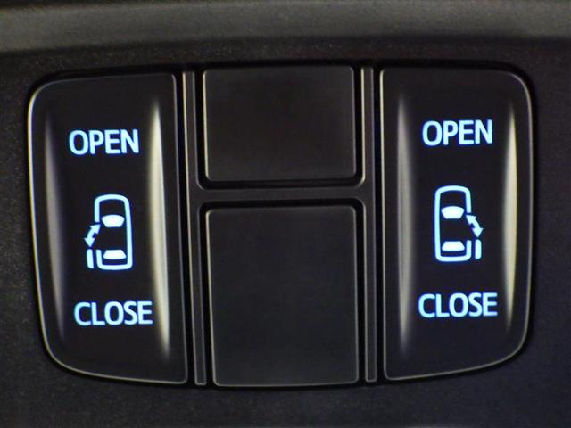 【両側電動スライドドア】・・・ワンタッチで簡単にドアの開閉操作が出来ます。お子様連れやお買い物で手が放せない時にとっても便利な機能です♪ミニバン車では人気の装備です!