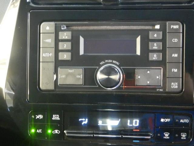 【純正CDオーディオ】・・・お気に入りの音楽を聴きながらのドライブは楽しいですよね☆洋楽?邦楽?どんな音楽を楽しみますか?AM・FM機能もモチロン付いてますよ♪