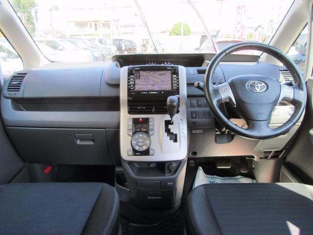 トヨタ ヴォクシー ZS ワンオーナー車 純正HDDナビ パワースライドドア