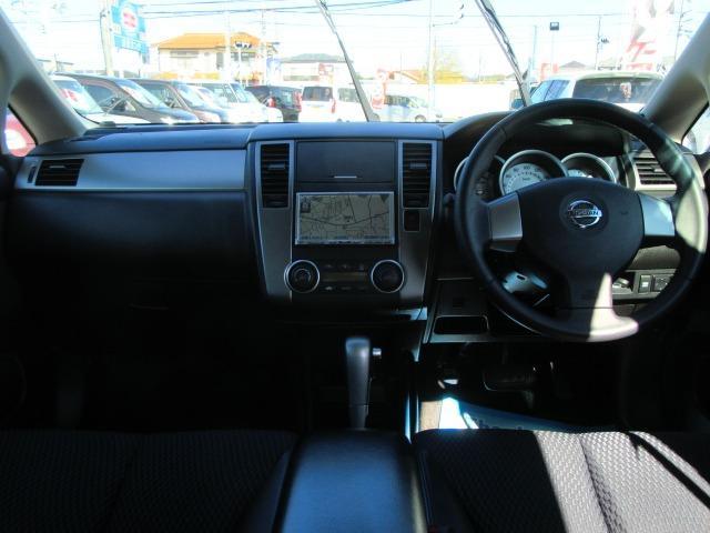 15M SV+プラズマ ワンオーナー車 パナソニックストラーダナビTV CD&DVD再生 インテリジェントキー オートAC ECOMODE コンビ革シート オートライト 前後コーナーセンサー セキュリティ サイドバイザー(5枚目)