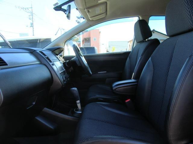 15M SV+プラズマ ワンオーナー車 パナソニックストラーダナビTV CD&DVD再生 インテリジェントキー オートAC ECOMODE コンビ革シート オートライト 前後コーナーセンサー セキュリティ サイドバイザー(6枚目)
