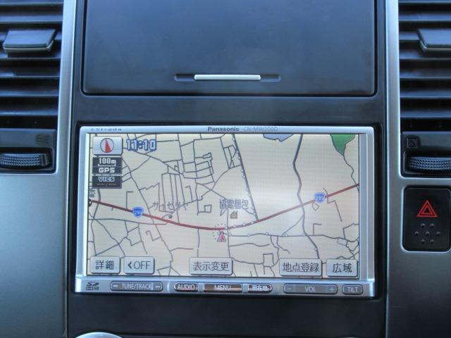 15M SV+プラズマ ワンオーナー車 パナソニックストラーダナビTV CD&DVD再生 インテリジェントキー オートAC ECOMODE コンビ革シート オートライト 前後コーナーセンサー セキュリティ サイドバイザー(9枚目)