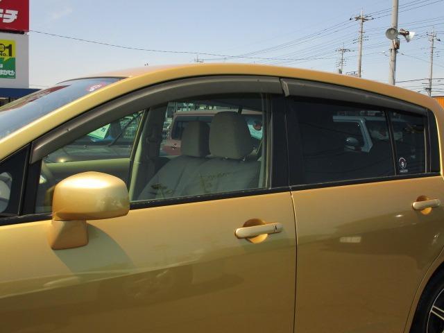 15M SV+プラズマ 純正ナビTV CD 禁煙車 インテリジェントキー ETC 前後ドライブレコーダー オートAC エコモード コンビ革シート 社外アルミ セキュリティ サイドバイザー(23枚目)