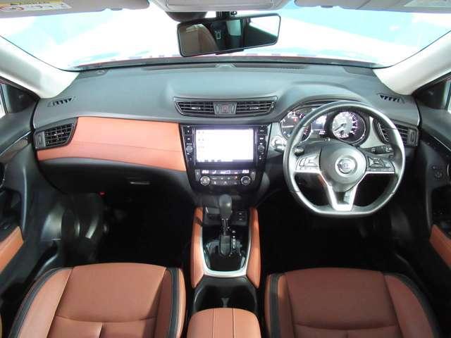 20Xi ハイブリッド レザーエディション プロパイロット・4WD・本革パワーシート・シートヒーター・エマージェンシーブレーキ・踏み間違防止アシスト・アラウンドビューモニター・ドライブレコーダー・LED・電動リヤゲート・ルーフレール・試乗車UP(3枚目)