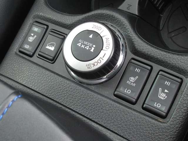4WD切り替えスイッチ 前後シートヒーター付き