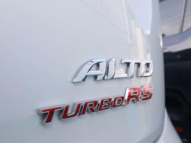 スズキ アルトターボRS レーダーブレーキ パドルシフト HIDライト 届出済未使用車