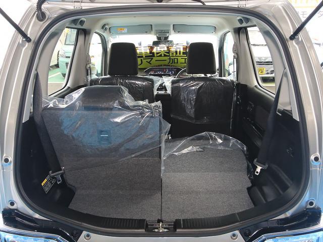 ★2列目シート片側格納★後席片側を格納すれば、3名乗車しながら大きな荷物が積載可能です☆シートアレンジが多彩でとっても便利な車です