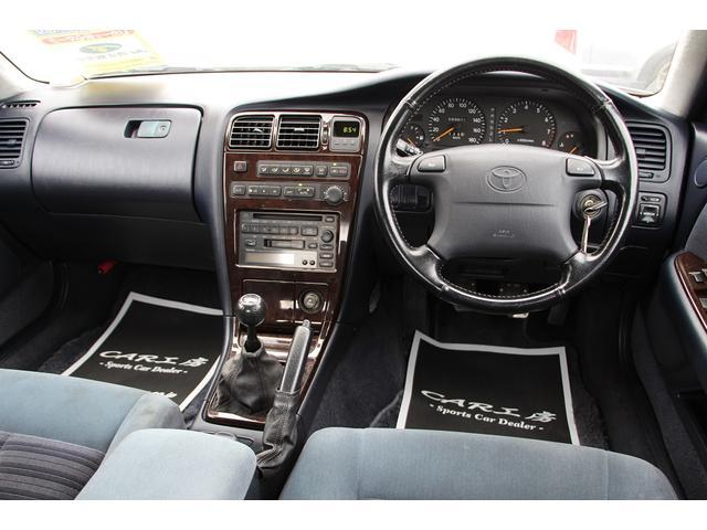 トヨタ クレスタ ツアラーV サンルーフ 5速改公認 新品ベルテックスエアロ