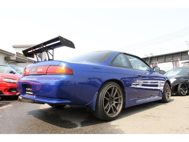Q's改S14ターボエンジン アペックスタービン(18枚目)