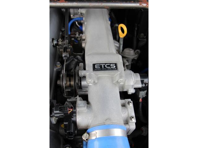 JZX100用機械式スロットルに変更