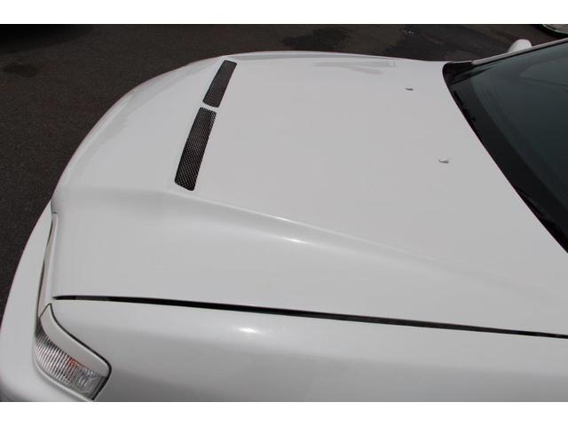 ツアラーV リミテッド BNスポーツフルエアロ FRPフロントフェンダー FRPボンネット ワークエモーションT5R19インチアルミホイル テインフルタップ車高調 柿本マフラー 前置インタークーラー5速改公認(12枚目)
