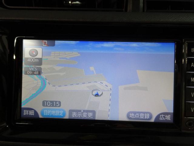 トヨタ アクア S ナビレディP 純正フルセグSDナビ バックカメラ ETC