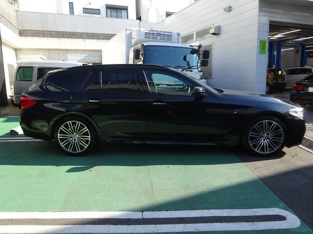 540i xDriveツーリング Mスポーツ ワンオーナー車 イノベーションパッケージ コンフォートパッケージ ナイトビジョン ハーマンカードンスピーカー 本革シート(4枚目)
