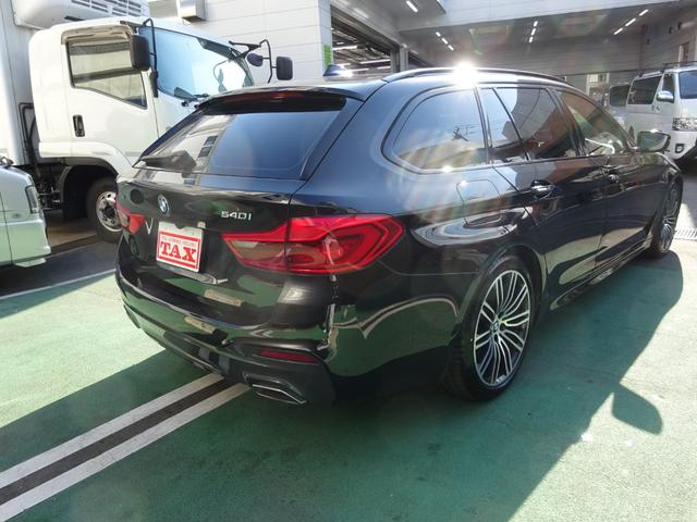540i xDriveツーリング Mスポーツ ワンオーナー車 イノベーションパッケージ コンフォートパッケージ ナイトビジョン ハーマンカードンスピーカー 本革シート(5枚目)