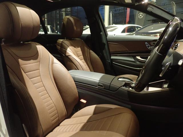 S550ロング エディション1 AMGラインプラス ヘッドアップディスプレイ Brumester ナッパレザーシート サンルーフ 赤外線反射ノイズ軽減ガラス エアバランスパッケージ 禁煙車 認定中古車(5枚目)