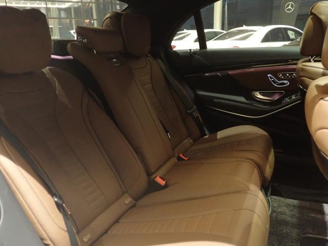 S550ロング エディション1 AMGラインプラス ヘッドアップディスプレイ Brumester ナッパレザーシート サンルーフ 赤外線反射ノイズ軽減ガラス エアバランスパッケージ 禁煙車 認定中古車(6枚目)