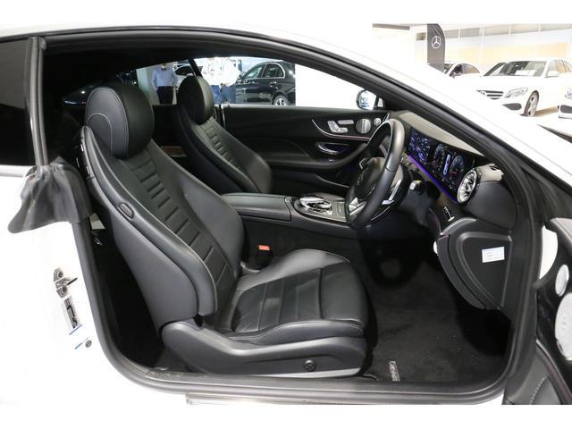 E200 クーペ スポーツ レーダーセーフティパッケージ パワーシート パノラマ 本革シート 禁煙車  認定中古車(6枚目)